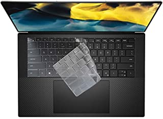 Ultra Thin Keyboard Cover for 2020 New Dell XPS 15 9500 15.6 inch Laptop, New XPS 17 9700 Keyboard Cover Protective Skin, ...