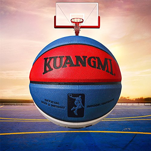 Best Prices! Genetic Los Angeles Basketball Ball PU Leather Official Size7 Basket Ball Outdoor Indoo...