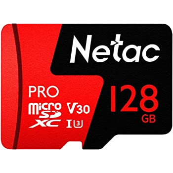 128GB Micro SD Card,U3 V30 Memory Card for 4K Video Recording Ultra High Speed 100MB/s Micro SDXC UHS-I TF Card with Adapter