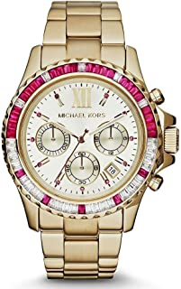 Michael Kors Womens Quartz Watch, Analog Display and Stainless Steel Strap MK5871