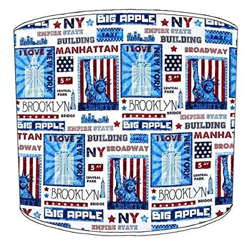 Premier Lighting Ltd 12 inch New York Brooklyn Abat-Jour 8 pour Un plafonnier