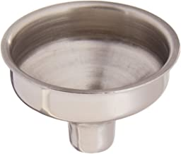 Visol Stainless Steel Flask Funnel,Chrome,Pack of 1