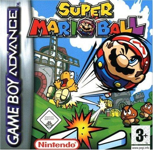 game boy Nintendo Advance Mario Pinball Land