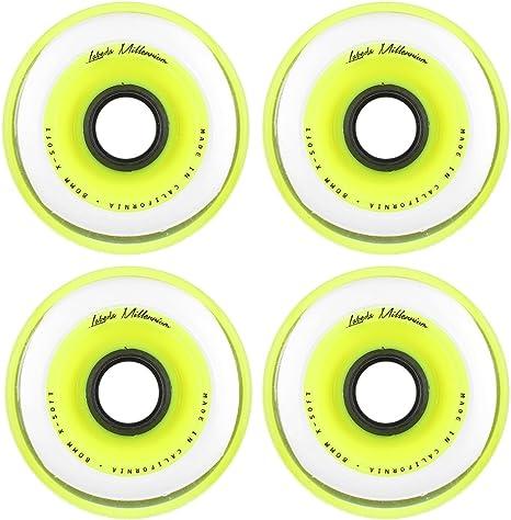 Labeda Millenium Inline Skate Wheels 4 Pack