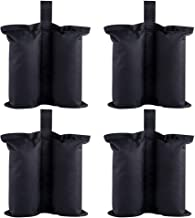 Fan-Ling Tent Leg Weight sandbag,Leg Weights Sand Bags Suitable for Pop up Canopy Tent Instant Outdoor Sun Shelter Canopy Legs 4-Pack (Bags Only, Sand Not Included)