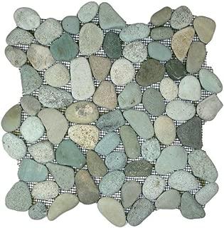 pebble tiles bathroom