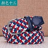 LLZZPPD Cinturón De Lona Cinturón De Lona Hombres Hebilla Lisa Pantalones para Hombres Cinturón Hebilla Automática Pantalones Juveniles, AB, 110Cm