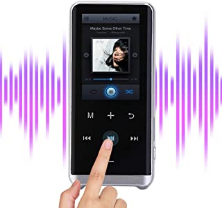Portable Music Player, On-The-Go MP3 Player with FM Radio and Lossless Sound Speaker, Multifunctional BLT 4.2 Audio Speake...