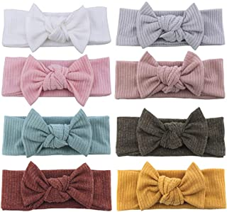 Toddler Baby Headbands with Bows Newborn Baby Girls Turban Headband Infant Hairbands Hair Accessories