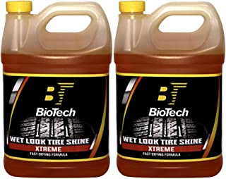 BioTech Industries Wet Look Tire Shine Xtreme 128 oz (2)