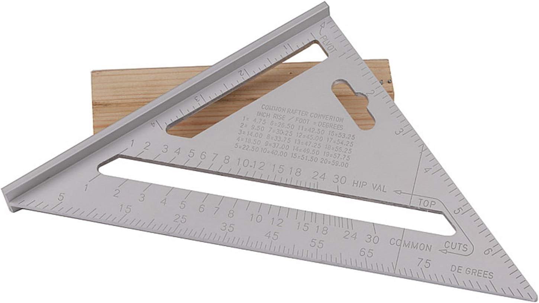 KJBGS Max 75% OFF High Precision 8'' 200mm Aluminun Ruler Max 81% OFF Alloy Pro Triangle