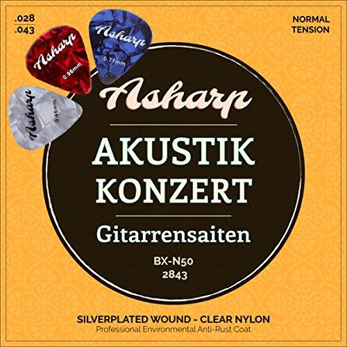 Asharp -   Gitarrensaiten für