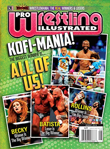 Pro Wrestling Illustrated: August 2019 Issue-PWI Wrestlemania 35 Real Winners & Losers, Hot Seat with POC Pierre Carl Ouellet, 2019 PWI Poll, Official ... Independent Roundup,+more (English Edition)