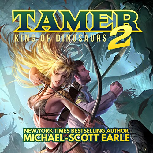 Tamer: King of Dinosaurs 2 audiobook cover art