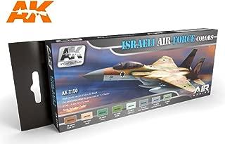 Israeli Air Force Colors Set