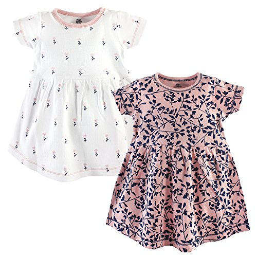 Yoga Sprout Baby and Toddler Girl Cotton Dresses, Fresh, 3 Toddler