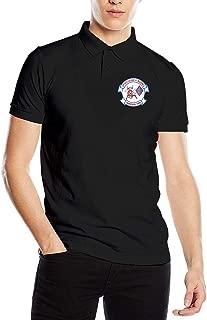 US Marine Corps 3rd Battalion, 1st Marines Men's Polo Shirt Leisure Cotton Classic Polo T Shirts