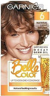 [Belle Color ] ガーン/ベル/Clr 6ナチュラルライトブラウンパーマネントヘアダイ - Garn/Bel/Clr 6 Natural Light Brown Permanent Hair Dye [並行輸入品]