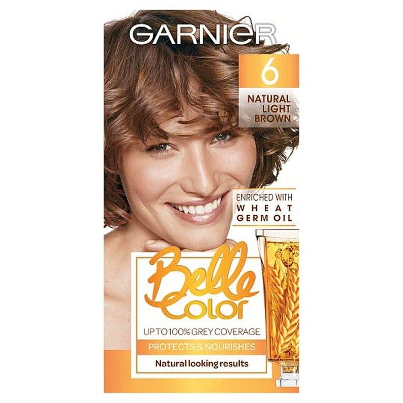 ペパーミントけん引プロテスタント[Belle Color ] ガーン/ベル/Clr 6ナチュラルライトブラウンパーマネントヘアダイ - Garn/Bel/Clr 6 Natural Light Brown Permanent Hair Dye [並行輸入品]