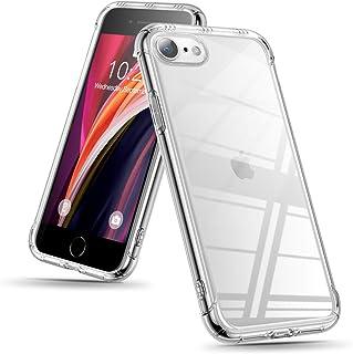 Sitikai iPhone se 2 ケース 第2世代 iPhone 7 ケース iPhone 8 ケース クリア 耐衝撃 TPU レンズ保護 滑り止め アイホン7/8 専用ガバー 米軍MIL規格 シリコン ストラップホール付き Qi充電対応...