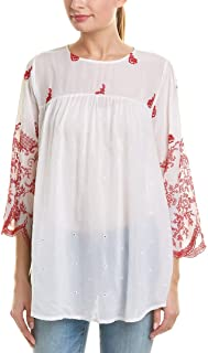 Johnny Was Women's Rose Stitch Blouse