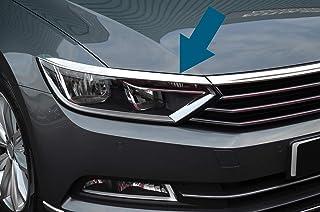 Acier Inoxydable Protecteurs de Pare-Chocs Arri/ère de Voiture pour VW Passat B8 Estate Plaque de Seuil de Coffre Arri/ère Protection Anti-rayures Couvercle De Garniture Accessoires de Style de Voiture