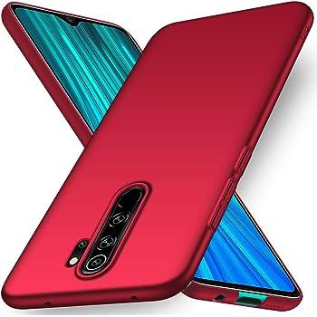 YIIWAY Funda Xiaomi Redmi Note 8 Pro, Rojo Ultra Slim Protectora ...