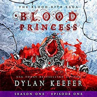 The Blood Princess: A Vampire Dark Fantasy Novel audiobook cover art