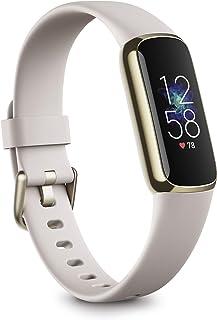 Fitbit Luxe aktivitetsarmband med upp till 5 dagars batteritid, stresshanteringsverktyg och Active Zone Minutes