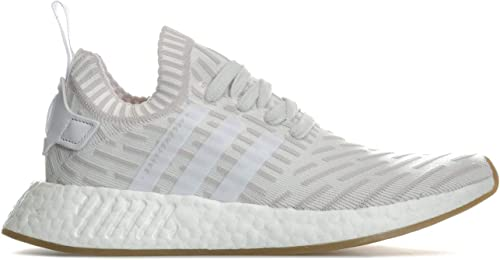 Adidas Originals paniers NMD_R2 Primeknit Blanc Femme