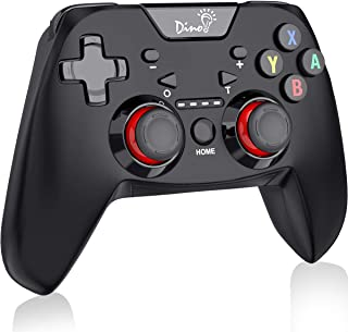Wireless Controller for Nintendo Switch, Switch Pro Controller with Adjustable Turbo Dualshock Switch Remote Controller Gamepad, Compatible with Bluetooth by DinoFire