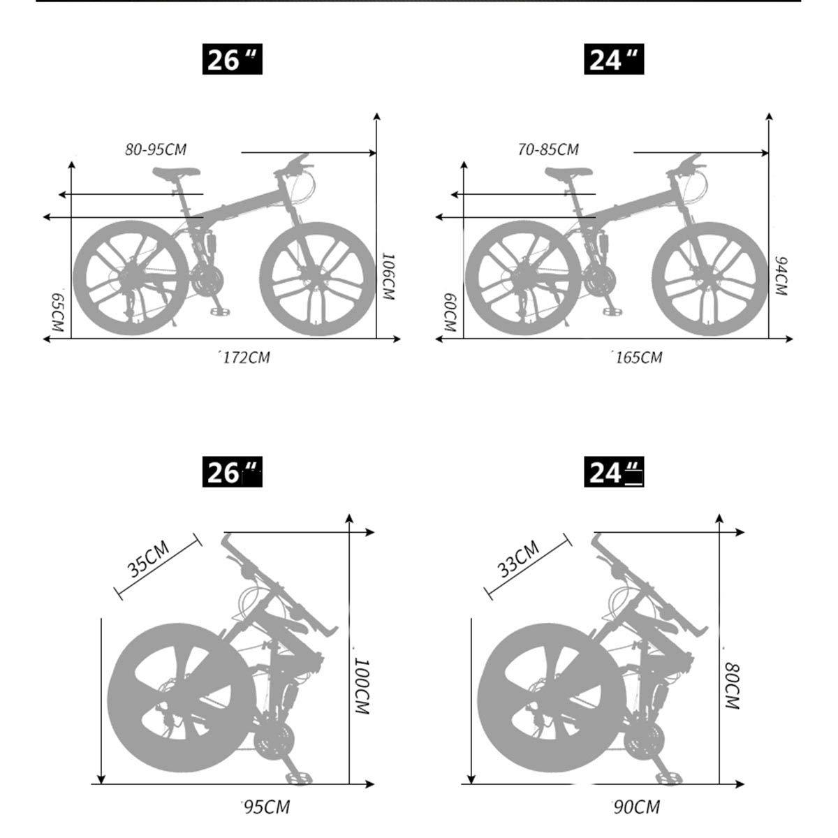Dapang Bicicleta de montaña de suspensión Doble Completa, con ...