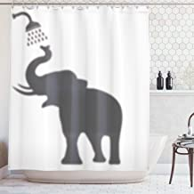 Image Tablecloth Elephant Shower Curtain Set 72