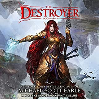 The Destroyer: Book 4 audiobook cover art