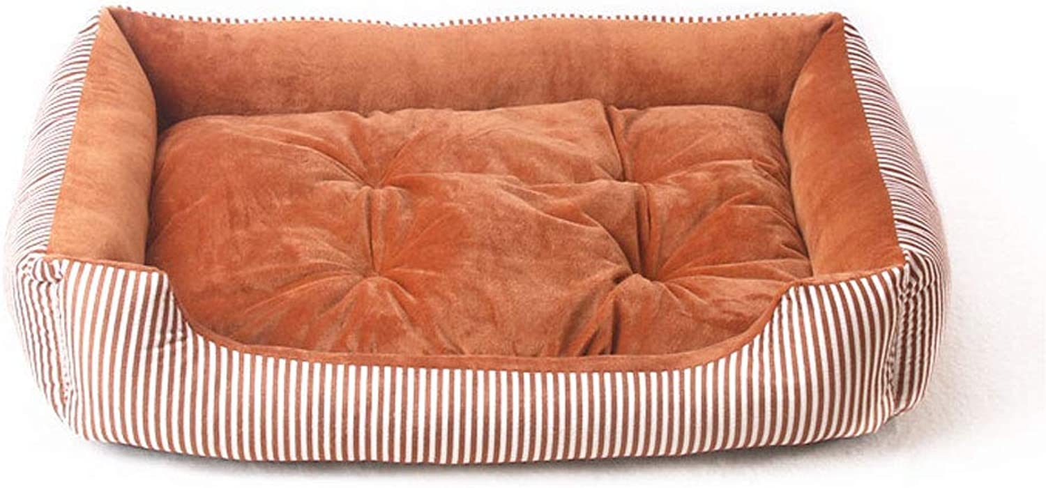 JM Orthopedic Dog Bed Memory Foam Pet Bed With Removable Washable Cover And Squeaker Toy As Gift (color   B, Size   90CM)