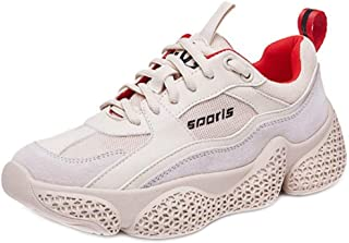 RAZAMAZA Women Simple Mid Heel Sneaker Shoes