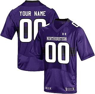 Custom Northwestern Wildcats Football Jersey