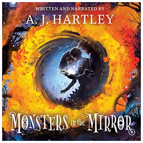 Monsters in the Mirror audiobook cover art