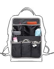 バッグインバッグ リュック 改良15ポケット A4 b4 c4 収納整理 大容量 軽量 ナイロン インナーバッグ インナーポケット 収納力抜群 仕分け デイパック・ザックに便利 メンズ レディース bag in bag