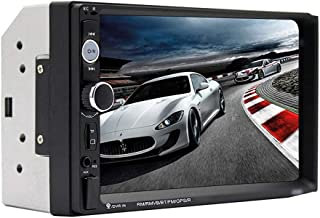 Car Radio7 Inch Touch Screen Car Stereo Multimedia MP5 Player Bluetooth RDS Dual USB Support Micphone (Color : Host)