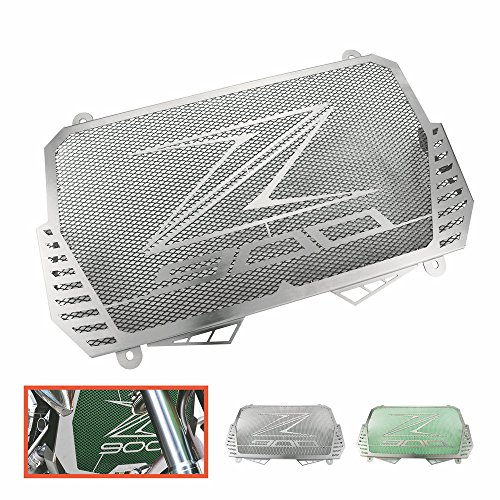 Heinmo Motocicleta Nuevo CNC Protector de la cubierta de la parrilla del protector del radiador de aluminio apto para KAWASAKI Z900 2017 Protectores de radiador