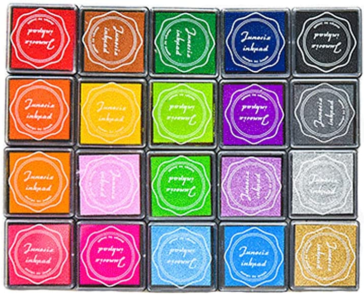 20 Colors Craft Super intense SALE Ink Pads Colorful San Francisco Mall for Stamping Stamp f