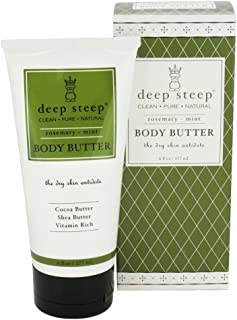 Deep Steep Organic Body Butter Rosemary Mint -- 8 fl oz