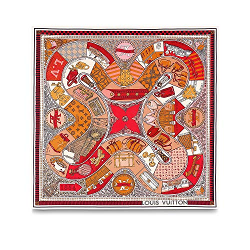Louis Vuitton Jeu De Louis Square Scarf