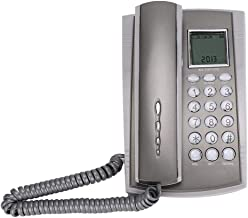 $22 » Landline Telephone, CKX-071 Clear Sound Quality Wall Mount Desktop Corded Telephone Phone for Seniors, Hearing impaired