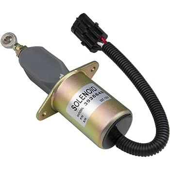 Fuel Shutdown Shut Off Solenoid 3931570 for Dodge Rams Cummins Diesel 5.9L 94-98
