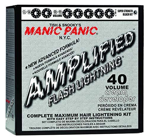 Manic Panic Flash Lightning Hair Bleach Kit 40 Volume, White