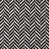 Fabulous Fabrics Jacquard schwarz, Fischgrat, 150cm breit