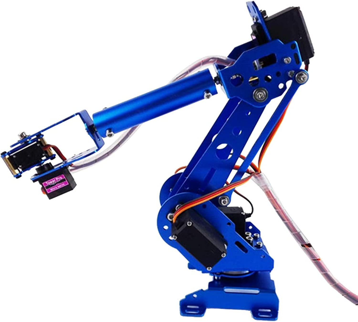 Baoblaze 6 Degree of Freedom Assembled Robot Arm Kit Robotic
