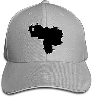 Sandwich Hat Baseball Cap Unisex Dad Adjustable Venezuela Map